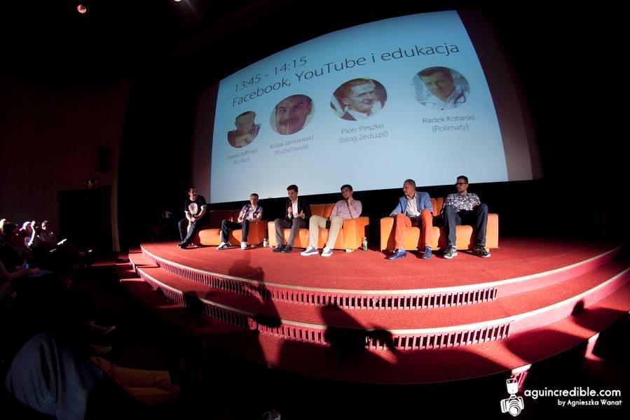 Panel dyskusyjny w trakcie MediafunLAB.
